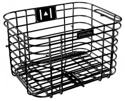 Electra wired basket, black