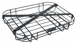 Electra wired front tray, black