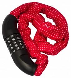Liix Big Lock 85 cm Polka Dots red