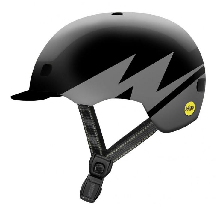 Nutcase Street MIPS Helm, Darth Lightnin