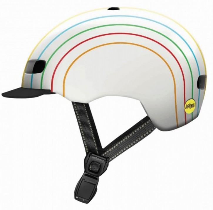 Nutcase Street MIPS Helm, Pinwheel