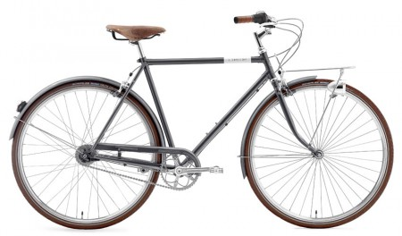 Creme Caferacer Man Doppio 7 Speed grey