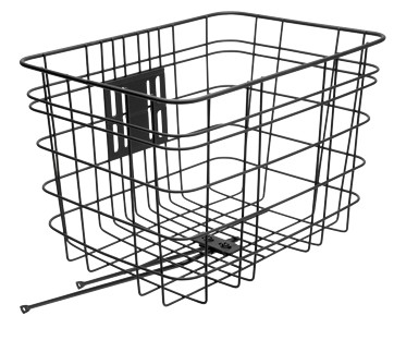 Electra Korb Wire Basket black