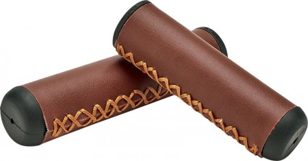 Griffe Hand Stitched Grips Brown, Electra
