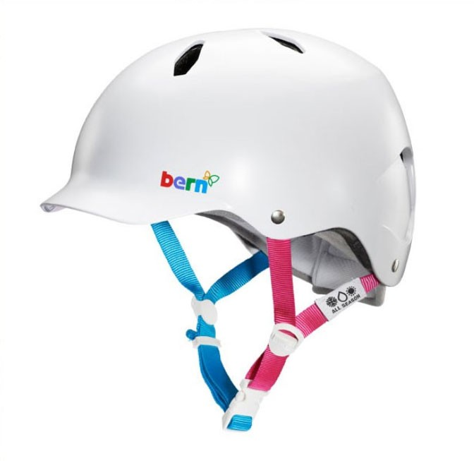 Bern Helm Bandita, satin white