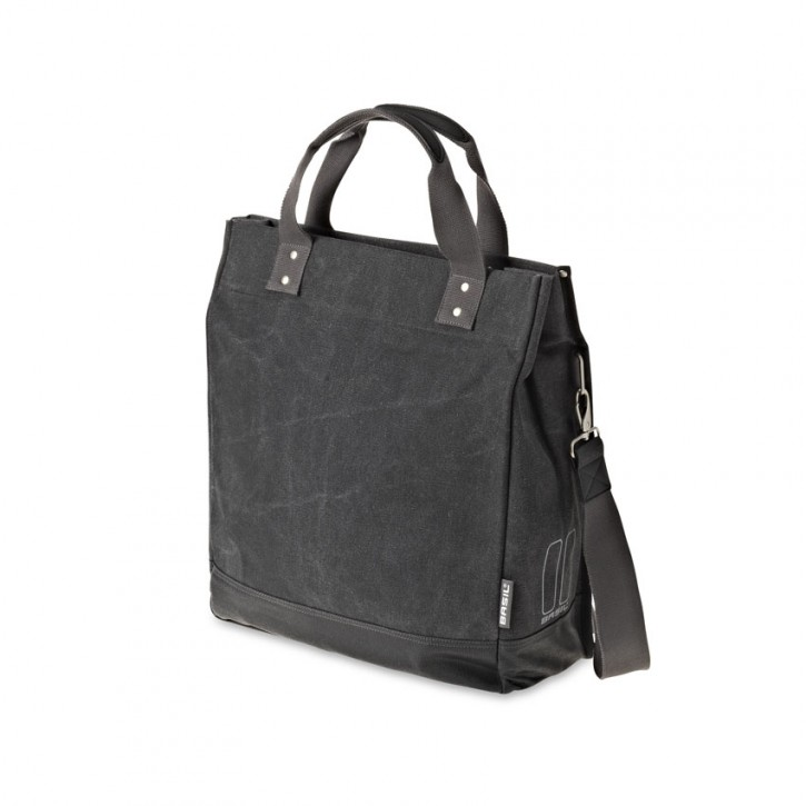 Basil Urban Fold Cross Bag schwarz