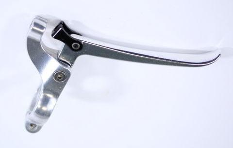 Bremshebelsatz Tektro für Singlespeed und Fixie, silver