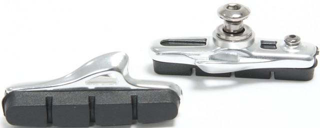 Bremsschuhe für Seiten-/Mittelzug Cartridge Hochglanz