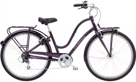 Electra Townie Commute 8D ladies, aubergine