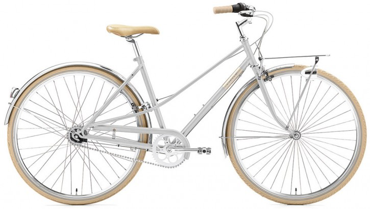 Creme Caferacer Ladies Solo 7 Speed bright silver