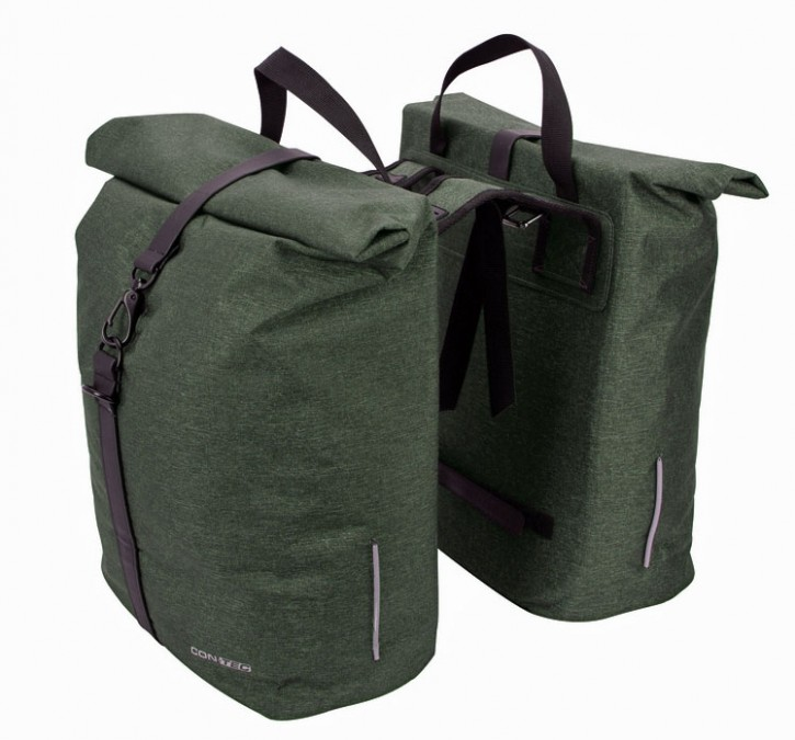 Contec Doppelpacktasche LIM Double olive green