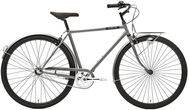 Creme Caferacer Men´s Solo 7 Speed Silver Matt