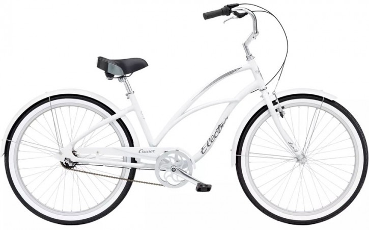 Electra Cruiser Lux 3i Ladies' white