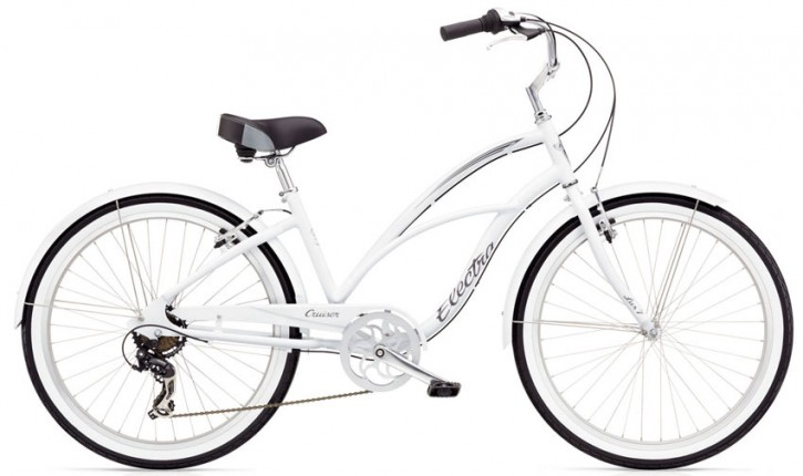 Electra Cruiser Lux 7D Ladies' white