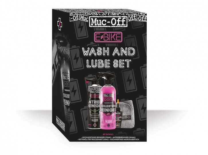 Muc Off Ebike Wash & Lube Set