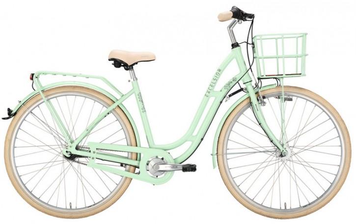 Excelsior 125 Alu 7-Gang white green, 28-Zoll 48 cm