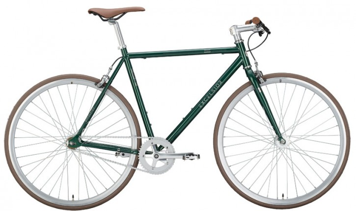 Excelsior Dandy Singlespeed Fixie, ponderosa green