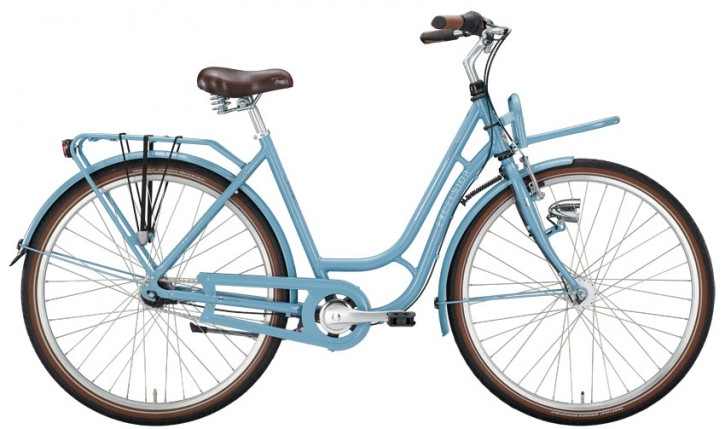 Excelsior Swan Retro + FT Alu 7-Gang, pastel blue
