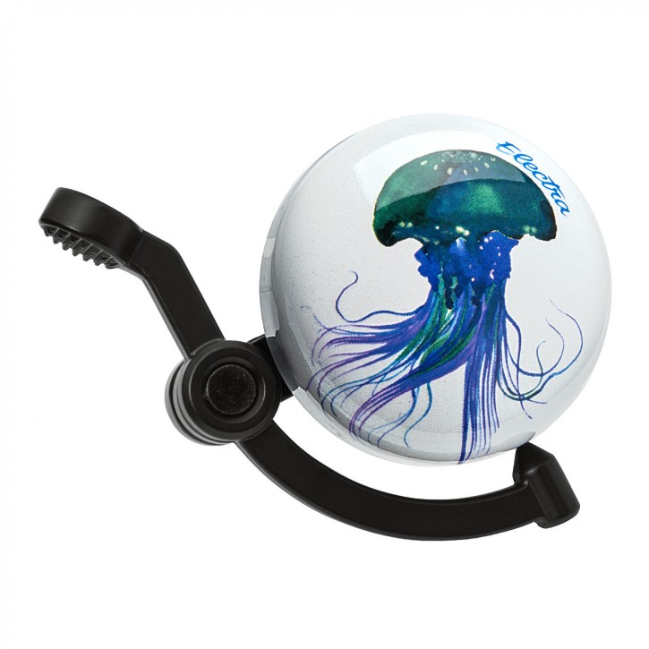 Klingel Jelly Fish Domed Linear Bike Bell, Electra