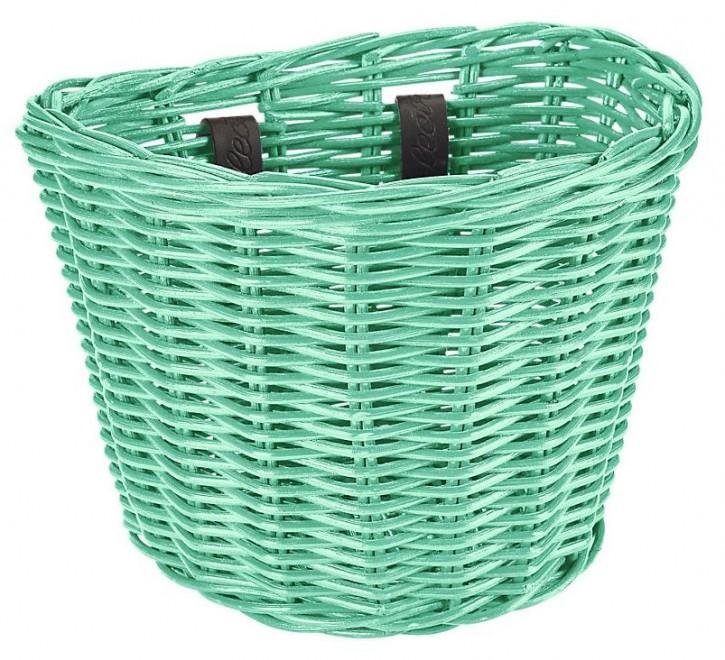 Electra Rattan Small Basket Mint