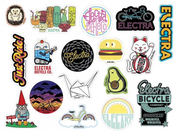Electra Sticker Set 2021