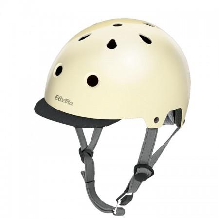 Electra Solid Color Helmet cream sparkle