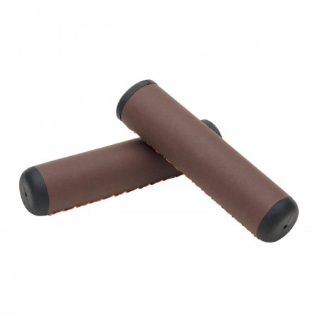 Griffe Hand Stitched Grips Dark Brown, Electra