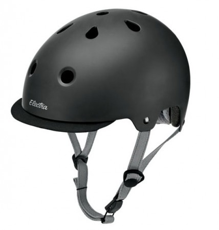 Electra Solid Color Helmet matte black