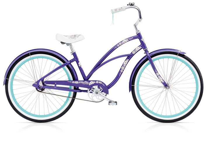 Electra Hawaii 3i purple metallic 24""