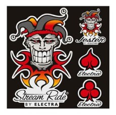 Stickerset Jester