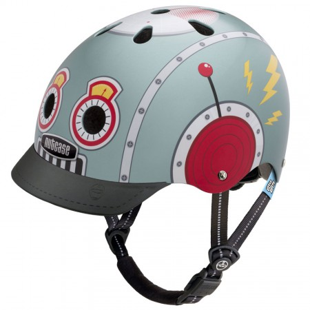 Nutcase Helm Little Nutty G3 Tin Robot
