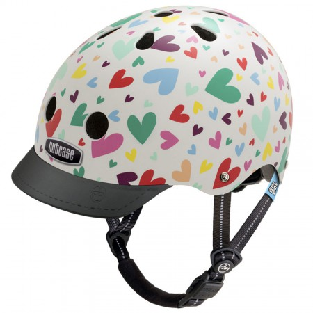 Nutcase Helm Little Nutty G3 Happy Hearts