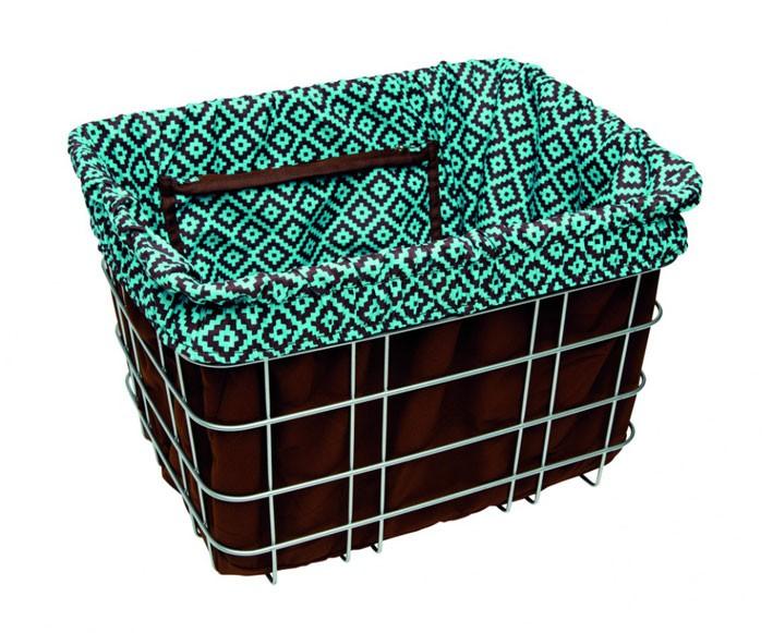 Electra Basket Liner NAVAJO brown/turquoise