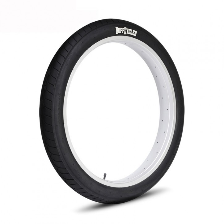 "Ruff Cycles Ruffer Tire Black 24"" 3.0"