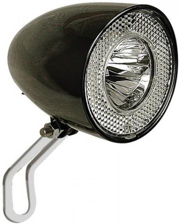 LED Scheinwerfer Retro Classic N schwarz, Contec