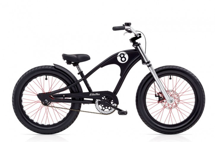 "Electra Kinderrad Straight Eight Kids 20"" matte black 3-Gang Nabenschaltung"