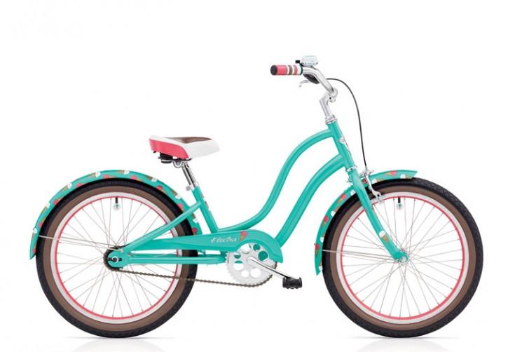 """Electra Kinderrad Sweet Ride 20"""" teal 3-Gang Nabenschaltung"""