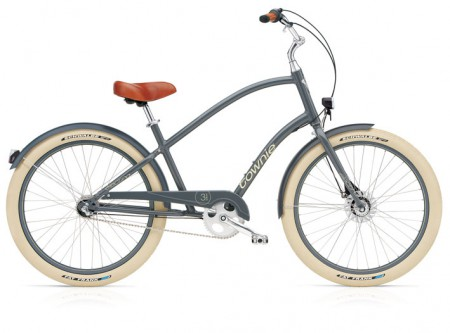 Electra Townie Balloon 3i EQ slate men's