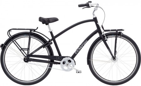 Electra Townie Commute 7i mens, black satin