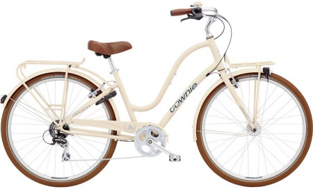 Electra Townie Commute 8D ladies, cream