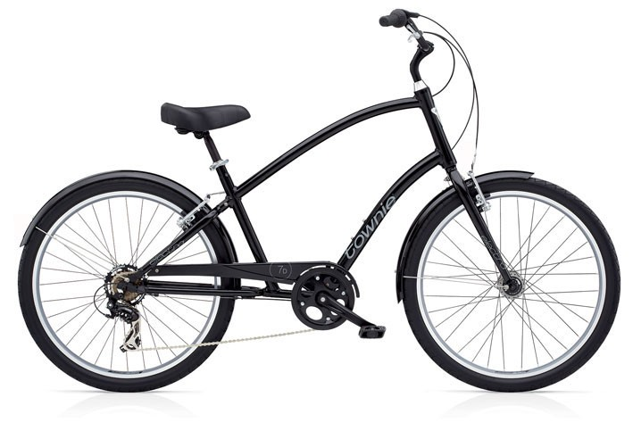 Electra Townie Original 7D tall gloss black men´s