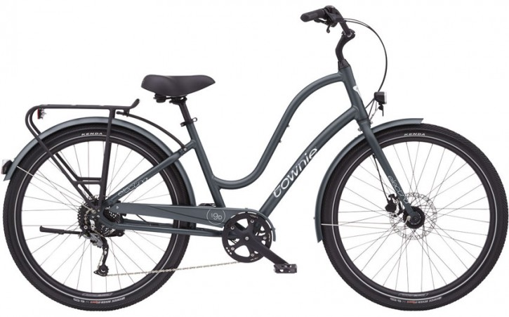 Electra Townie Path 9D EQ Step Thru, gun metal