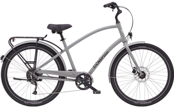 Electra Townie Path 9D EQ Step Over, nardo grey
