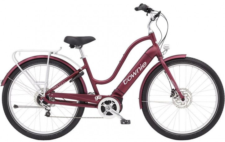 Electra Townie Path Go! 5i StepThru, Matte Rosewood
