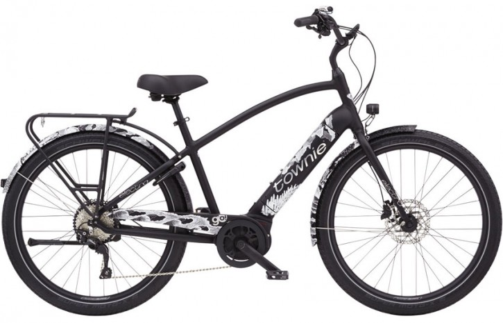 Electra Townie Path Go! 10D Step Over, Limited Edition matte black