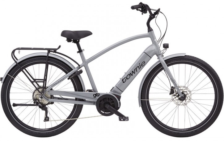 Electra Townie Path Go! 10D Step Over, nardo grey