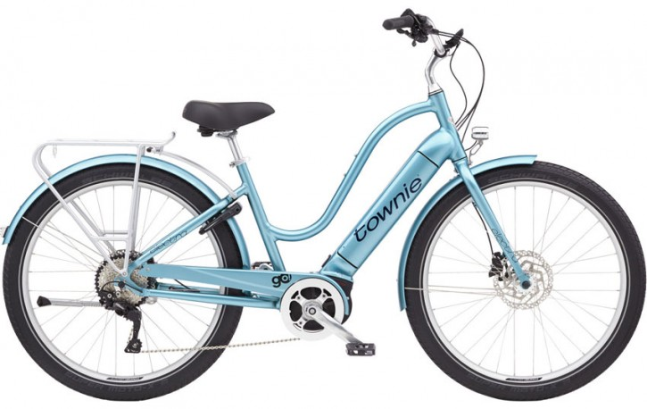 Electra Townie Path Go! 10D Step Thru, aqua metallic