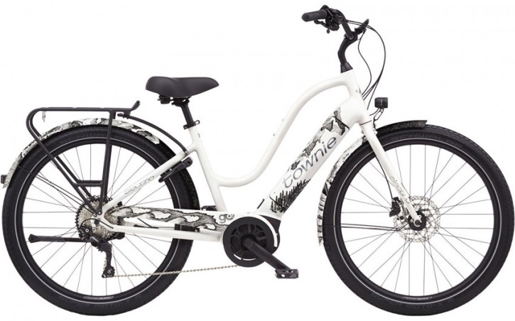 Electra Townie Path Go! 10D Step Thru, Limited Edition pearl white