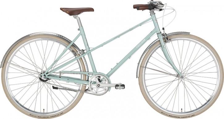 Excelsior Vintage Damenrad 3-Gang, light aqua blue