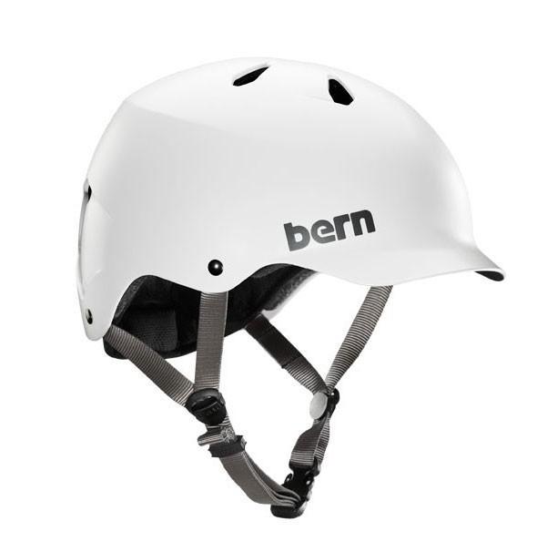 Bern Watts EPS Thin Shell satin white XXL-XXXL